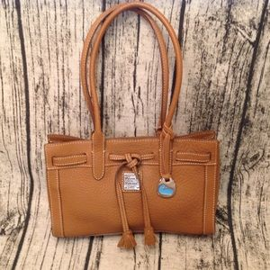 Pebble Leather Dooney Tote